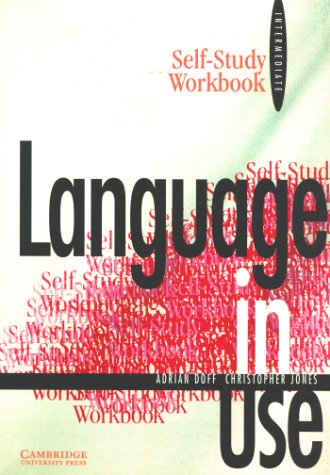 9783125394018: Language in Use, Intermediate Course, Self-study Workbook
