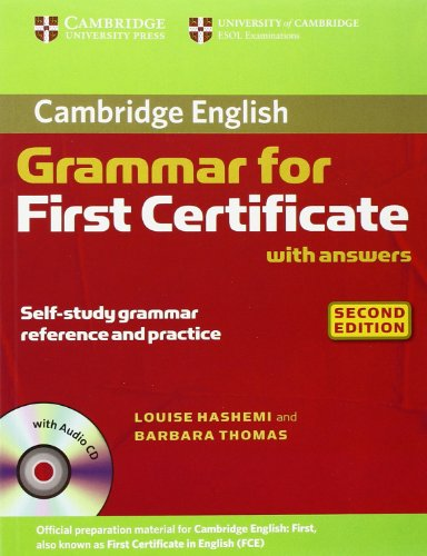9783125394278: Cambridge Grammar for First Certificate: Edition with answers and Audio-CD
