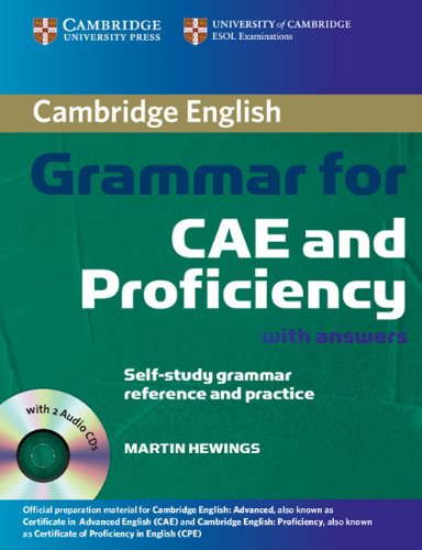 9783125394995: Cambridge Grammar for CAE and Proficiency: Book with answers and Audio-CD