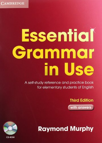 9783125395381: Essential Grammar in Use. English Edition with answers and CD-ROM