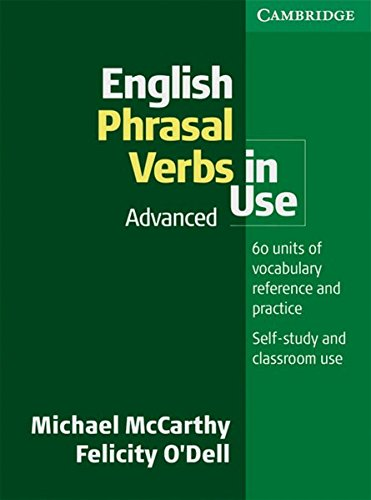 9783125395428: English Phrasal Verbs in Use. Advanced: Book with answers