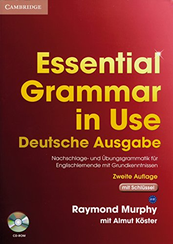 9783125395527: Essential Grammar in Use with Answers and CD-ROM German Klett Edition