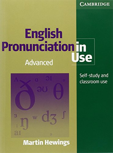 9783125395596: English Pronunciation in Use. Advanced. CD-ROM, Book and 4 Audio-CDs: Self-study and classroom use