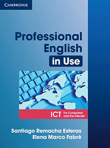 9783125395855: Professional English in Use ICT: For Computers and the Internet