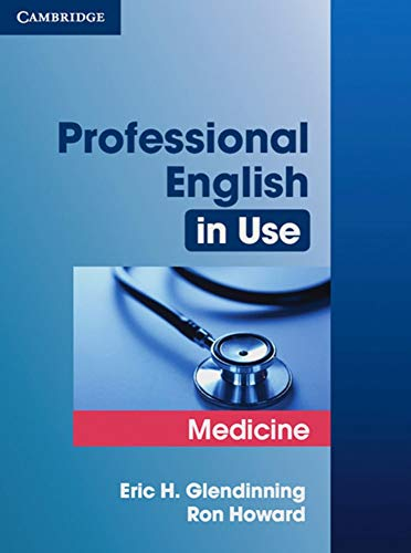 9783125395879: Professional English in Use Medicine: Book with answers