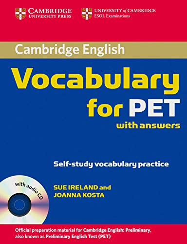 9783125396241: Cambridge Vocabulary for PET: Edition with answers and Audio CD