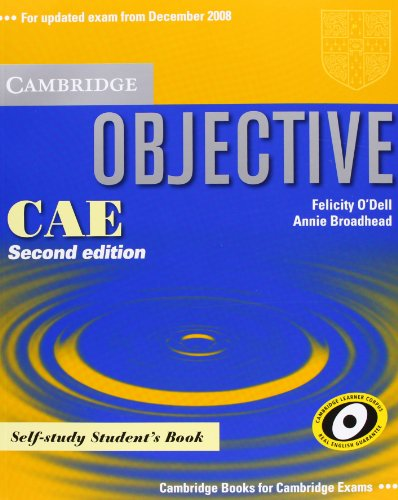 9783125396630: Objective CAE Updated Edition. Self-study Student's Book