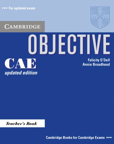 9783125396647: Objective CAE Updated Edition. Teacher's Book