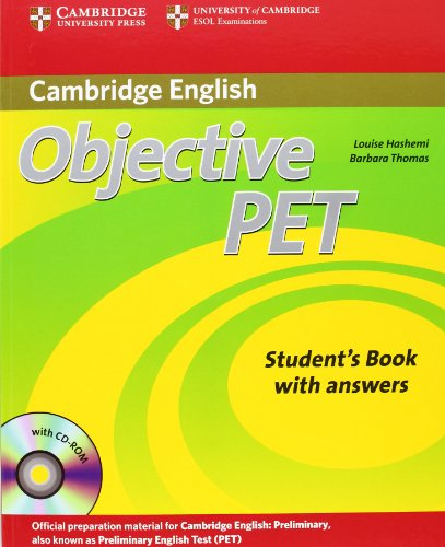 9783125396692: Objective PET - Second Edition. Student's Book with answers and CD-ROM