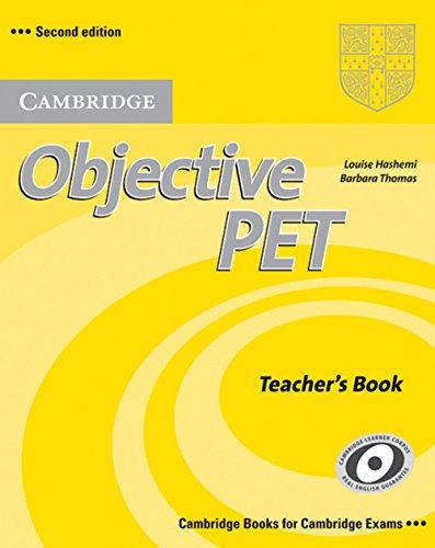 9783125396784: Objective PET - Second Edition. Teacher's Book