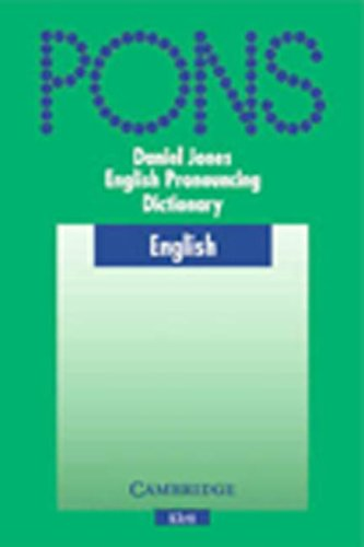 9783125396838: English Pronouncing Dictionary (16th Edition) (Klett Ponns Co-Edition)