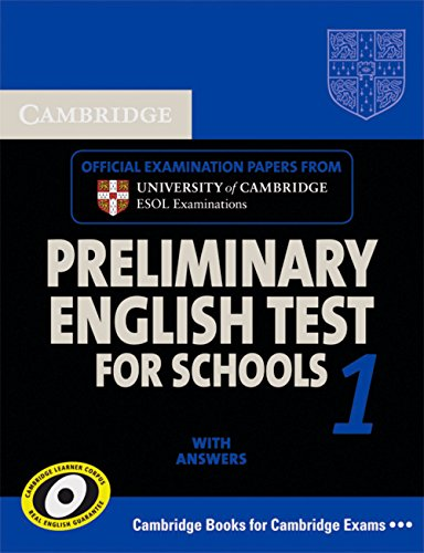 9783125396876: Cambridge PET for Schools 1. Student's Book with answers
