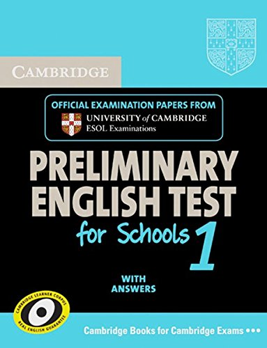 9783125396890: Cambridge PET for Schools 1. Self-study Pack: Preliminary English Test for Schools 1