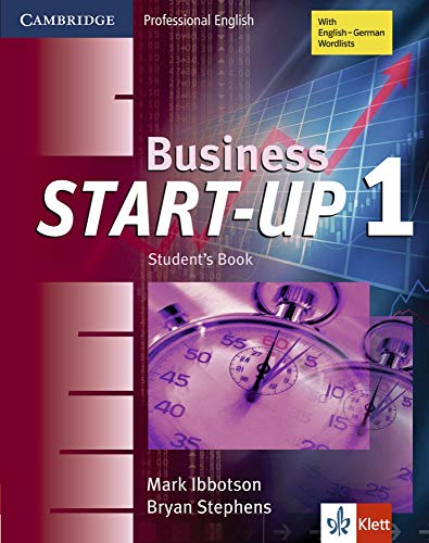 9783125397637: Business Start-Up 1 Student's Book Klett Edition