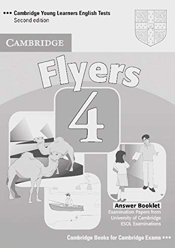 9783125398382: Cambridge Young Learners English Tests. Flyers 4. Answer Booklet