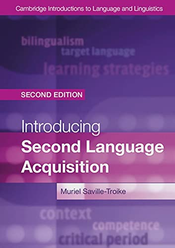 9783125398597: Introducing Second Language Acquisition Second edition