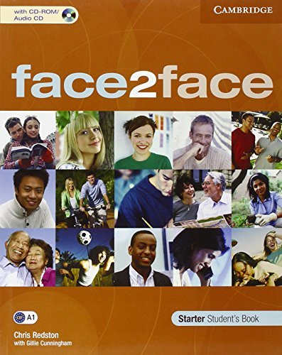 9783125398603: face2face. Student's Book with CD-ROM/Audio CD. Starter Level