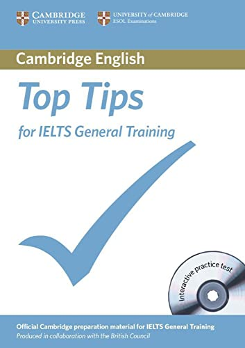 9783125398849: The Official Top Tips for IELTS General Training module. Paperback with CD-ROM