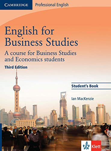English for Business Studies - Third Edition.