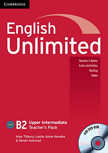 9783125399112: English Unlimited B2 - Upper-Intermediate. Teacher's Pack with DVD-ROM