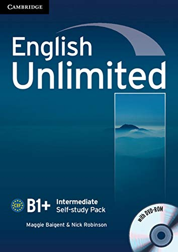9783125399167: English Unlimited B1+ -Intermediate. Self-study Pack with DVD-ROM