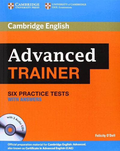9783125399365: Cambridge Certificate in Advanced English Trainer. Practice Tests with Answers and 3 Audio CDs