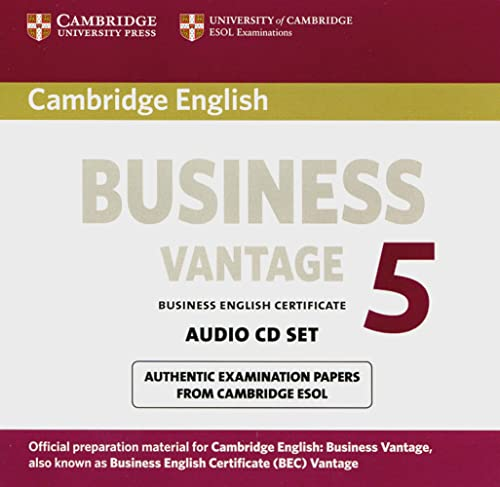Cambridge BEC Vantage 5 Audio-CDs (2)