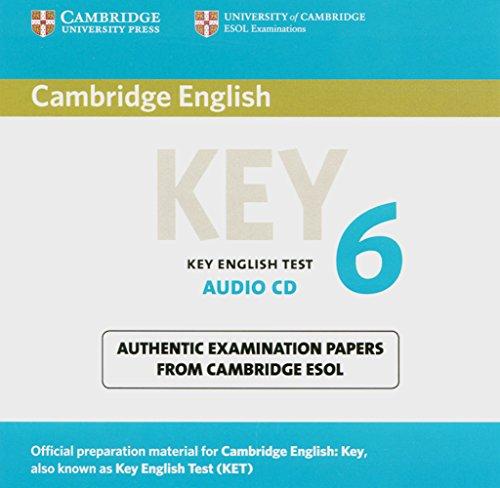 9783125399549: Cambridge Key English Test 6. Audio-CD