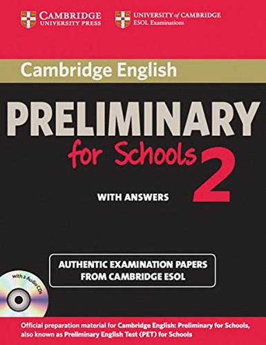 9783125399662: Cambridge Preliminary English Test for Schools 2. Student's Book Pack (Student's Book with 2 Audio CDs)