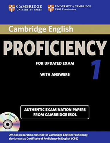 Cambridge Certificate of Proficiency in English 1 for updated exam. Student's Book Pack (...