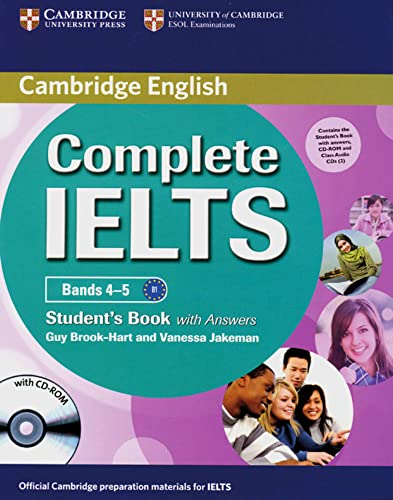 9783125399822: Complete IELTS / Foundation: Student's Pack (Student's Book with Answers, CD-ROM and 2 Class Audio CDs)