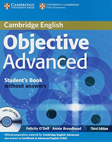 9783125399938: Objective Advanced Cambridge English Student's Book (without answers), w. CD-ROM