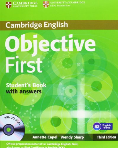 9783125400313: Objective First Certificate - Third Edition / Student's Book with answers with CD-ROM