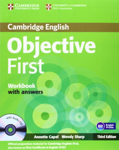 9783125400351: Objective First Certificate - Third Edition/Workbook with answers with Audio-CD