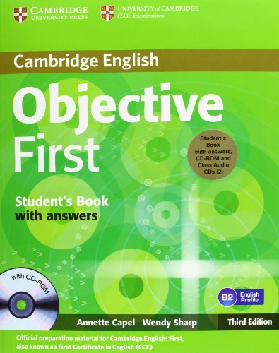 9783125400368: Objective First Certificate - Third Edition. Self-study Pack (Student's Book with answers with CD-ROM and Class Audio CDs)