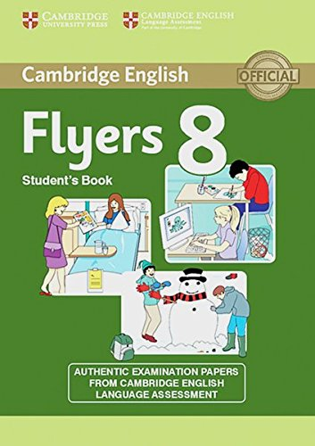 9783125400603: Cambridge Young Learners English Tests. Examination papers from the University of Cambridge Local Examinations Syndicate. Cambridge Flyers 8. Student's Book