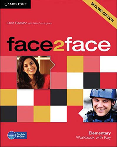 9783125400719: face2face Elementary. Workbook with Key