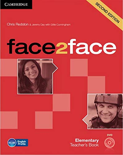 9783125400726: face2face. Teacher's Book with DVD-ROM. Elementary 2nd edition