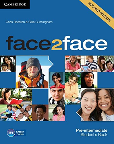 9783125400733: face2face Pre-intermediate Stud. Book w. DVD-ROM