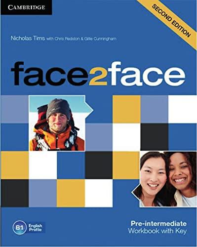 9783125400740: face2face Pre-intermediate. Workbook with Key