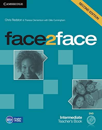 9783125400788: face2face. Teacher's Book with DVD-ROM Intermediate