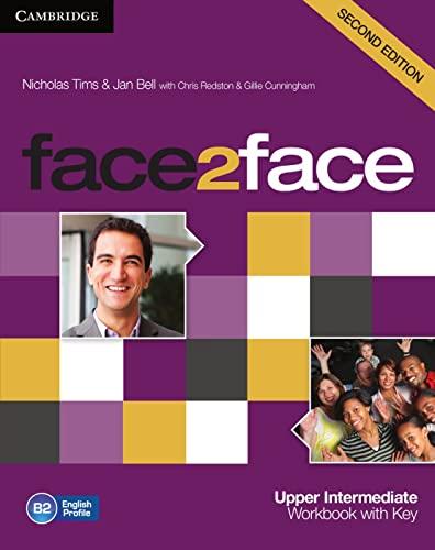 9783125400801: face2face. Upper-Intermediate. Workbook with Key: Level 4. B2