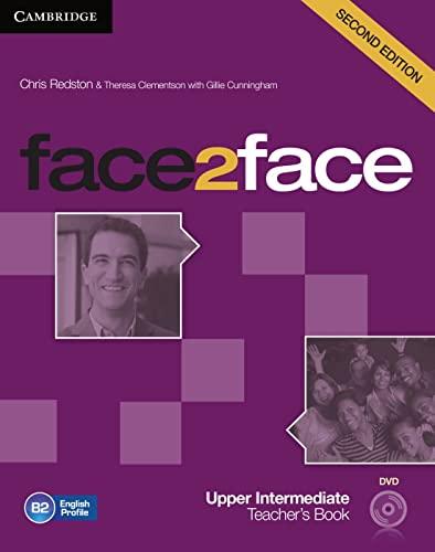 9783125400818: face2face. Teacher's Book with DVD-ROM Upper-Intermediate