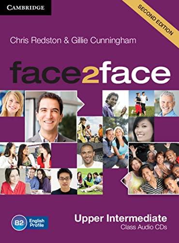 9783125400856: face2face. Upper-Intermediate. 3 Class Audio-CDs: Level 4. B2