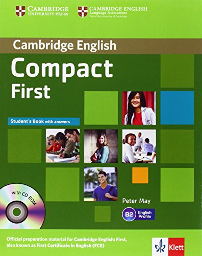 9783125400870: Compact First. Student's Book with answers with CD-ROM