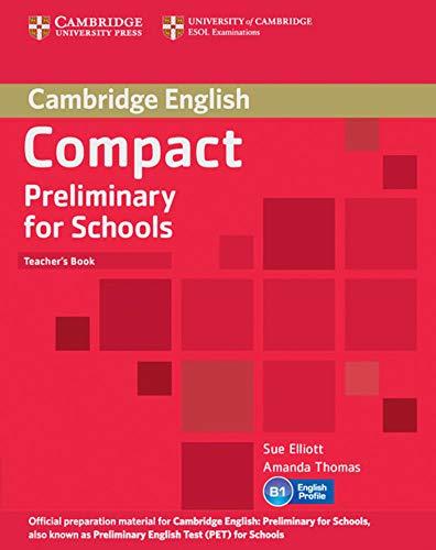 9783125401020: Compact Preliminary for Schools. Teacher's Book