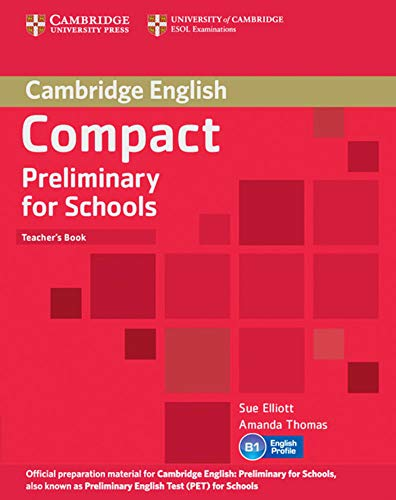 9783125401020: Compact Preliminary for Schools. Teacher's Book