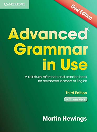 9783125401082: Advanced Grammar in Use. Edition with answers: A self-study reference and practice book for advanced learners of English
