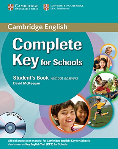 9783125401235: Complete Key for Schools. Student's Pack: (Student's Book without Answers with CD-ROM, Workbook without Answers with Audio CD)