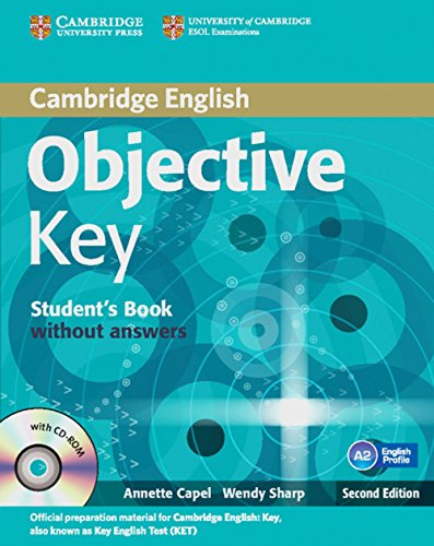 9783125401297: Objective Key. Student's Book without answers with CD-ROM: 2nd Edition